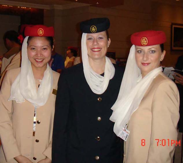 how to become an air hostess for emirates