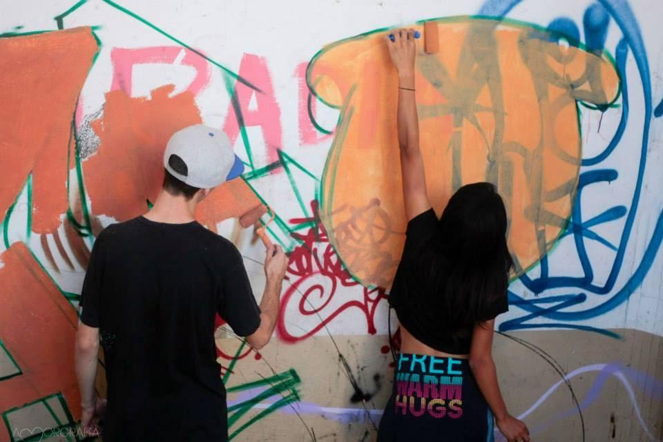 graffiti Estou Na Noia Berg Mudo Maa Niggs