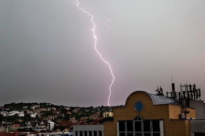 időjárás, jégeső, felhőszakadás, Budapest, vihar,