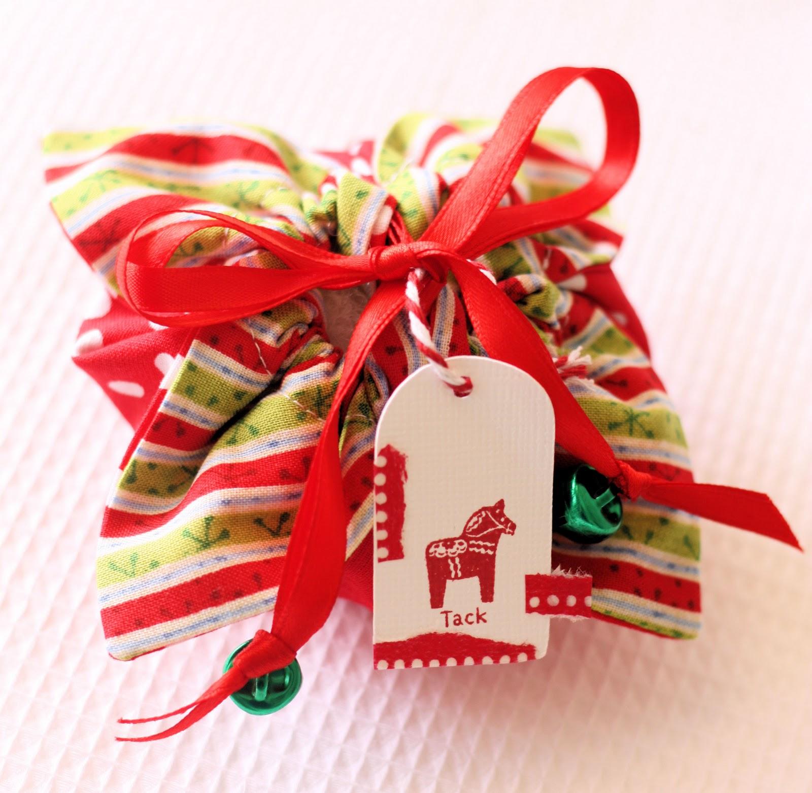 Мешочки для упаковки подарков своими руками