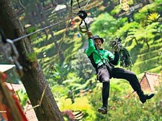 Tempat Flying Fox di Bandung Yang Menarik