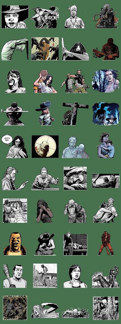 The Walking Dead Stickers