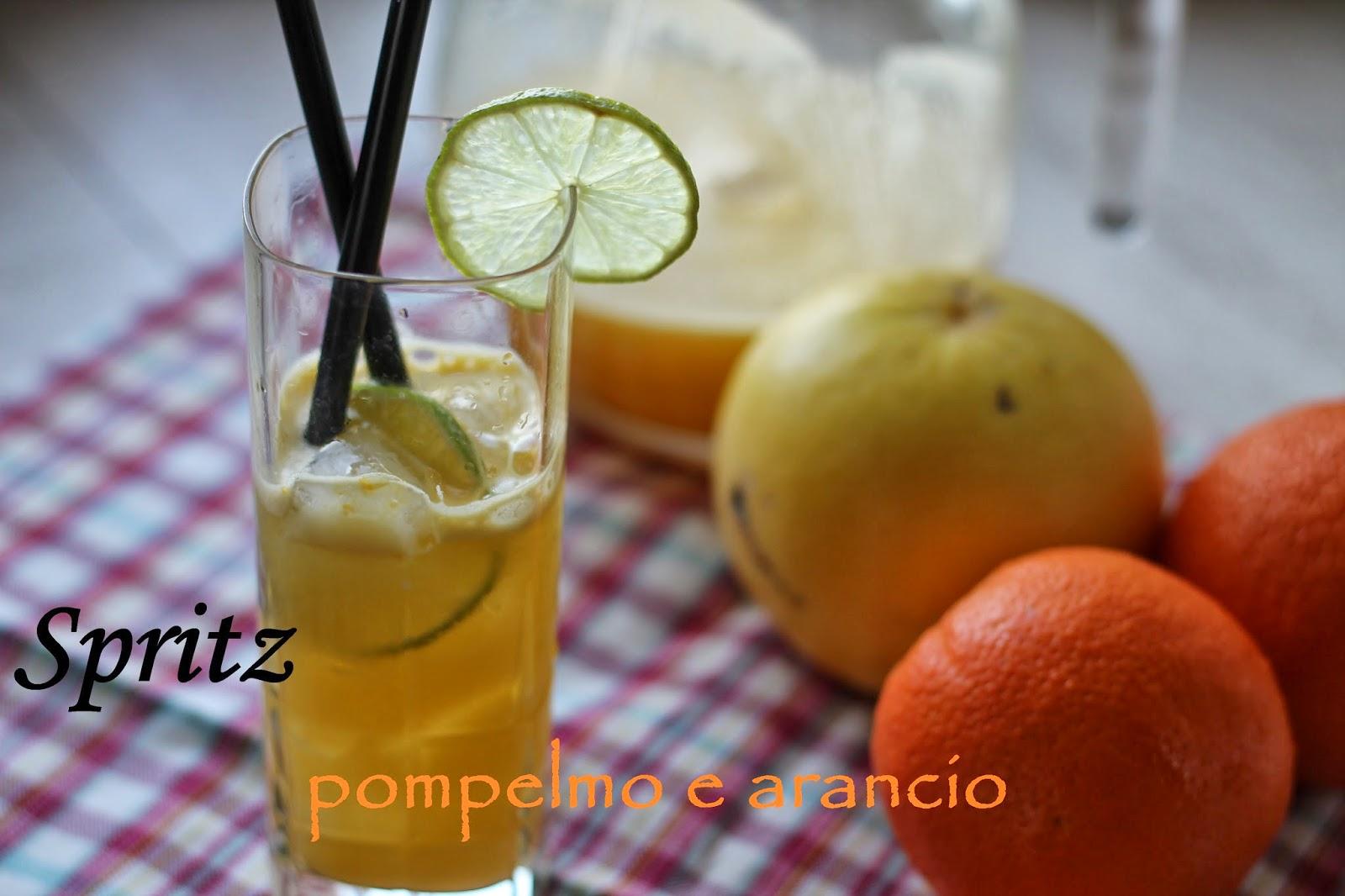 spritz pompelmo e arancio