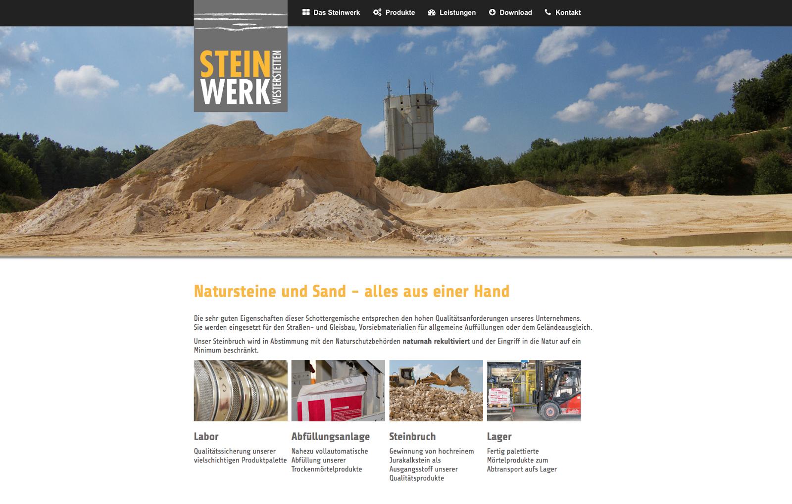 Steinwerk Westerstetten