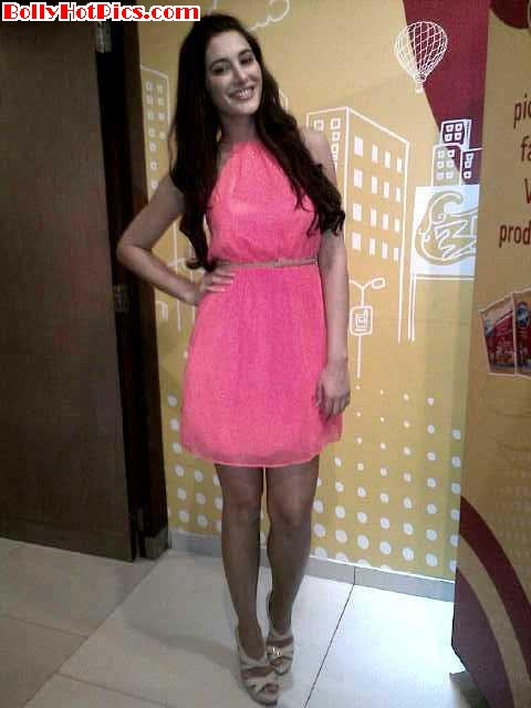 NARGIS FAKHRI in Hyderabad at the Venkys Xprs launch