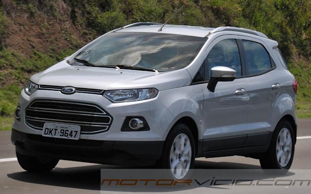 Novo Ford EcoSport 2014 Automática - Prata riviera