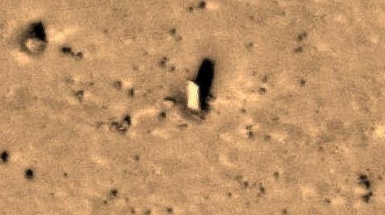 monolito de Marte
