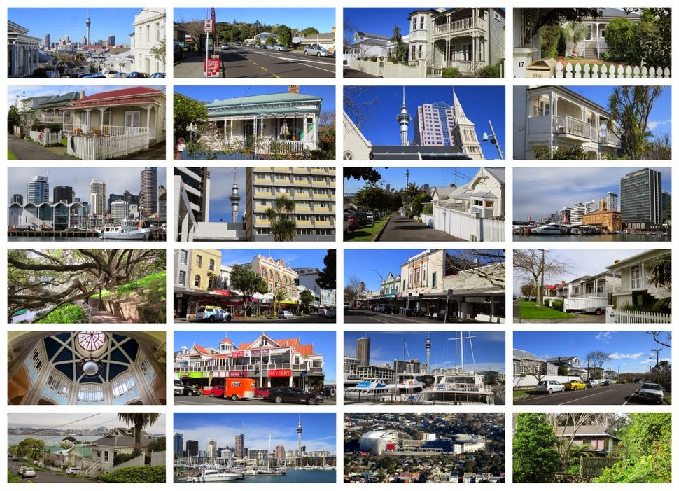 Auckland NZ en images