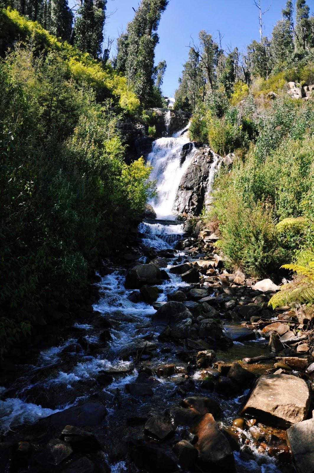 waterfall hiking