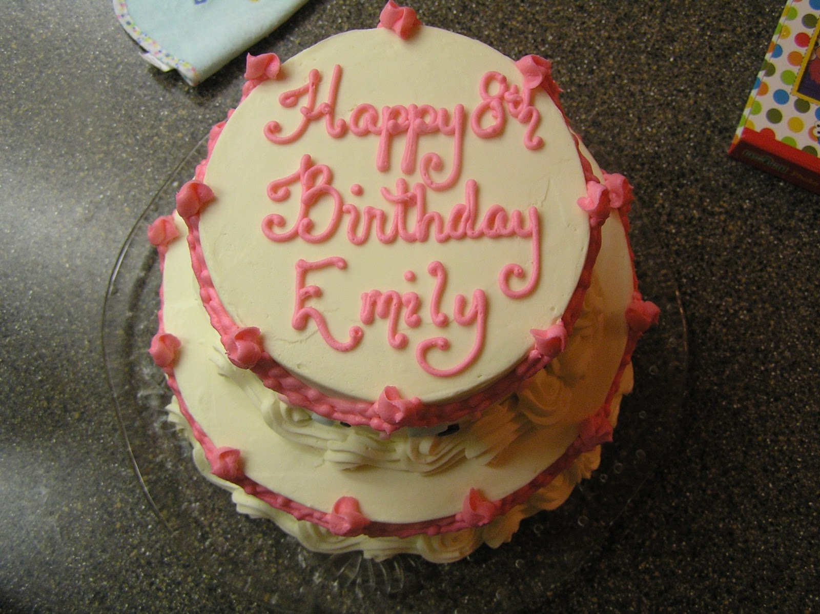 Birthday Cake Images Emily : HAPPY BIRTHDAY, EMILY!