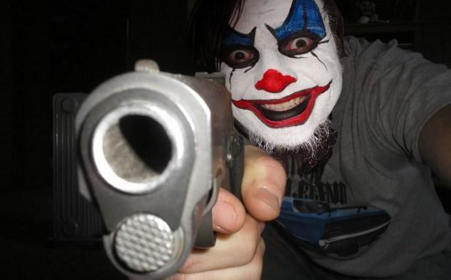 palhaços, medo, lenda, serial killers, killers, assassinos, sequestradores, van, pedófilo, possuído, courofobia