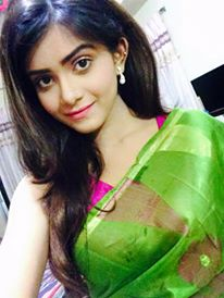 bd sexy model Tanjin Tisha in Saree
