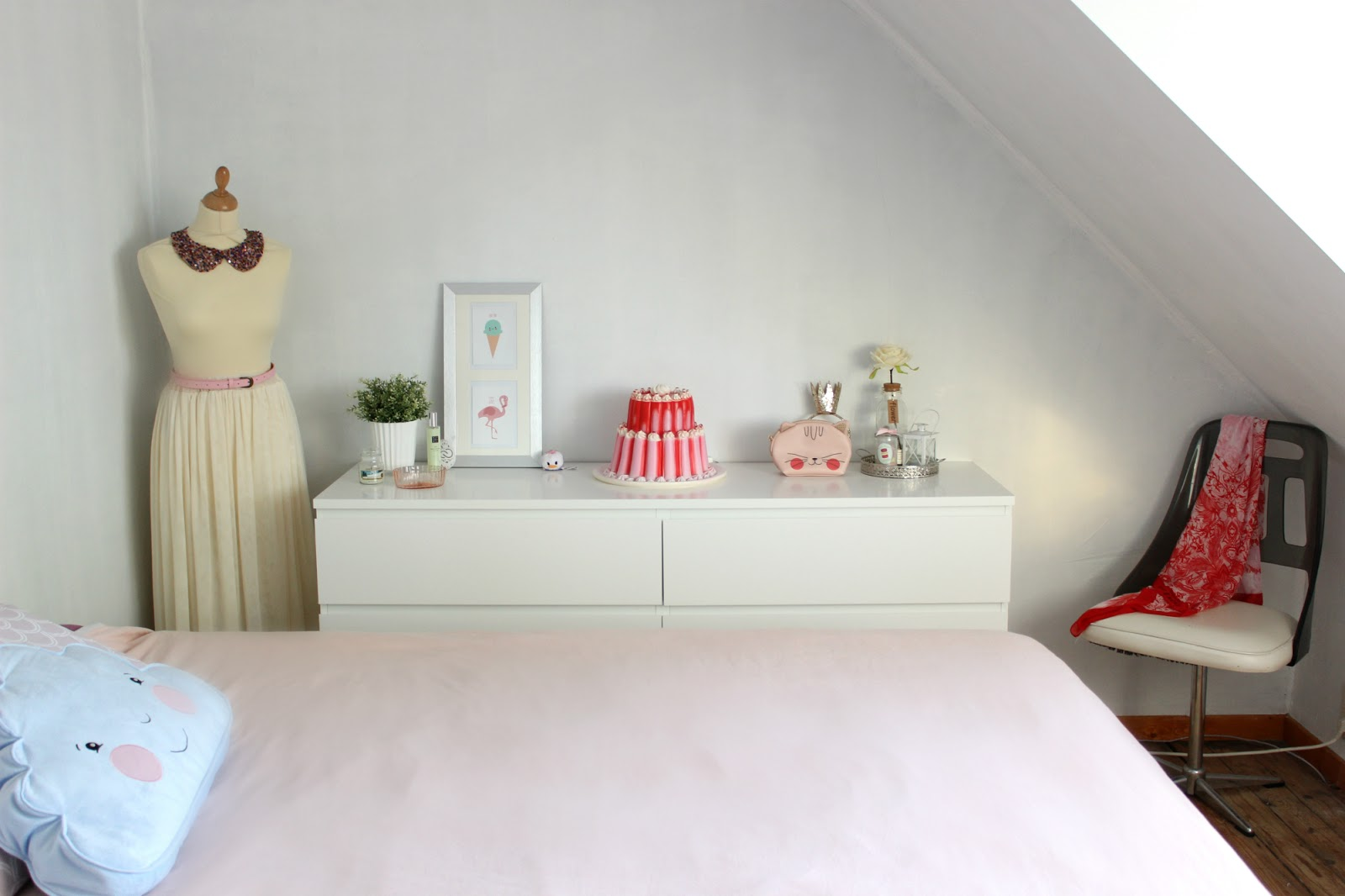 Sprinkles on a cupcake: bedroom make over