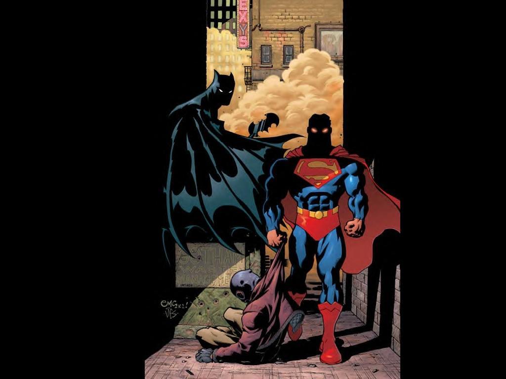 batman and superman cartoon wallpaper - photo #15