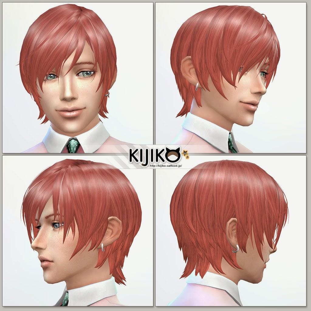Дополнение для симс 4 аниме причёски