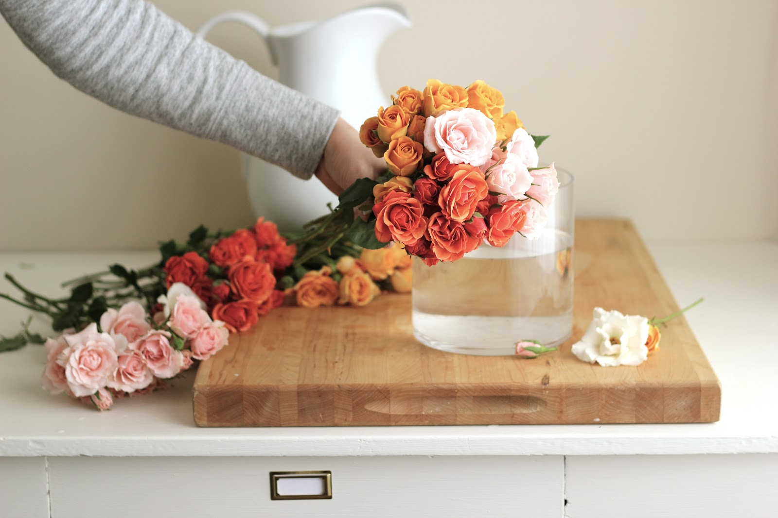 Sweetheart Roses Arrangements