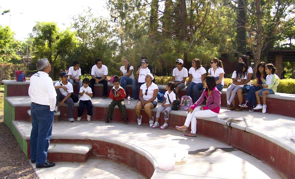 La grilla reinician en el vivero municipal programas de for Vivero municipal