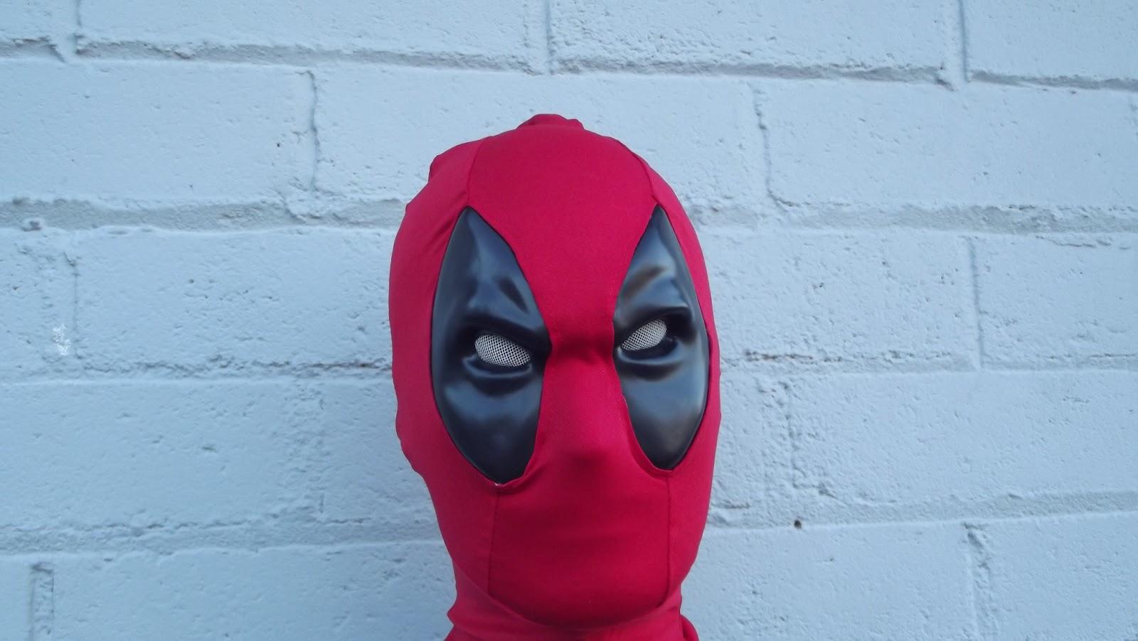 Как сделать дэдпул маска 195