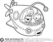 Láminas para Colorear - Coloring Pages: Los Octonautas para pintar colorear . los octonautas para dibujar pintar colorear imprimir recortar pegar