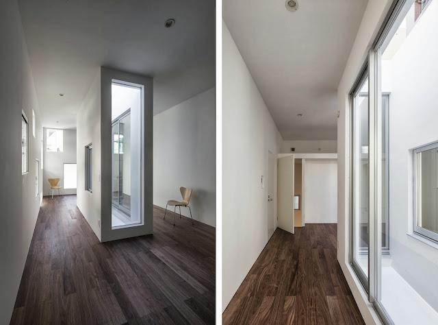 Suelos de madera con un toque de originalidad for Decoracion combinar suelo y puertas