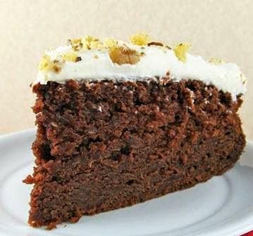 Inspirational Powers: Chocolate Zucchini Cake With Cream ...