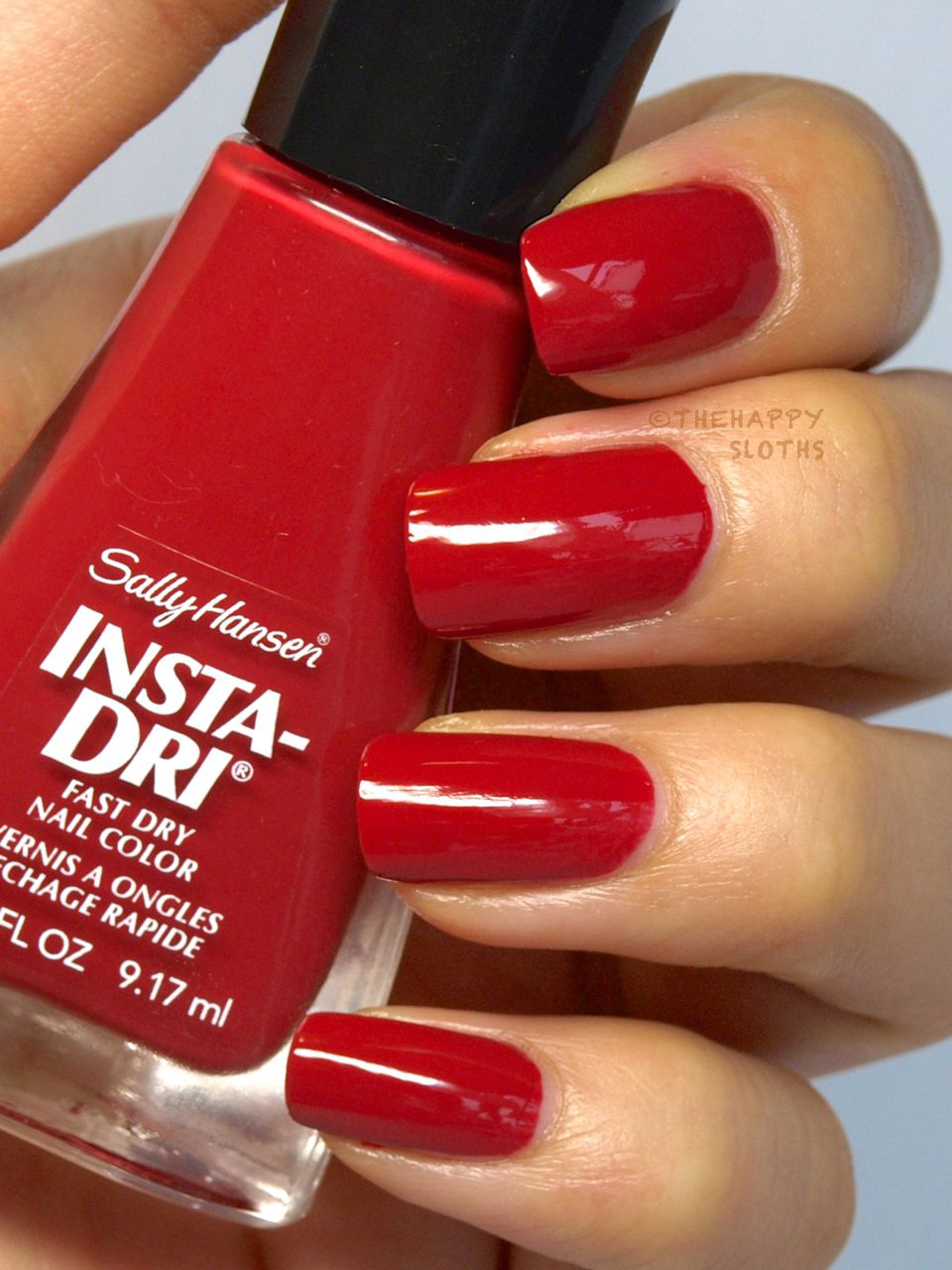 Sally Hansen Insta-Dri Moroccan Spice Market Collection Nail Polish in Surspice: Review and Swatches
