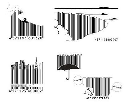 Bentuk Barcode Di Jepang yang Unic dan Lucu