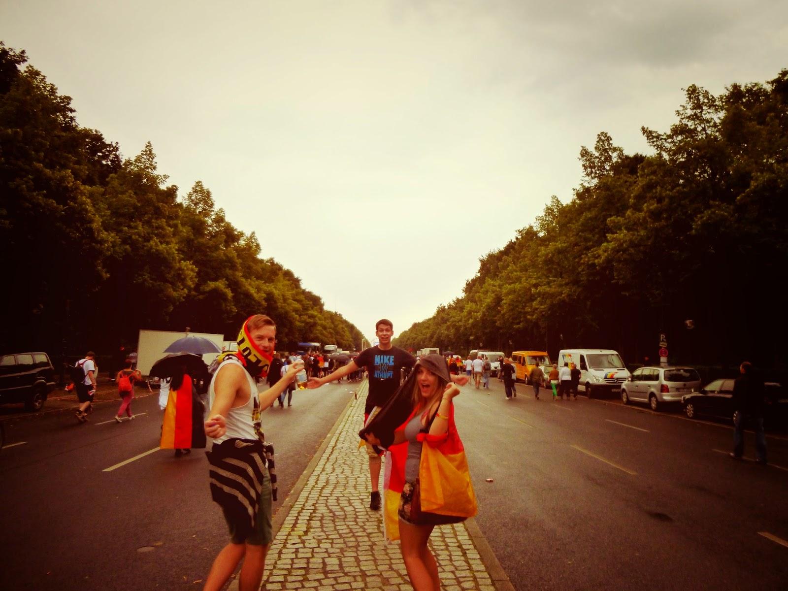 Berlin Fan Mile world cup