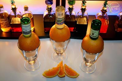 naranjas borrachas bebidas