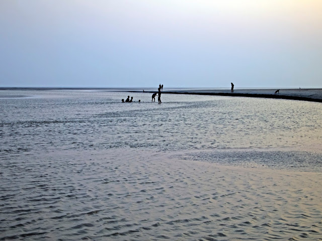 Evening at Bakkhali Beach