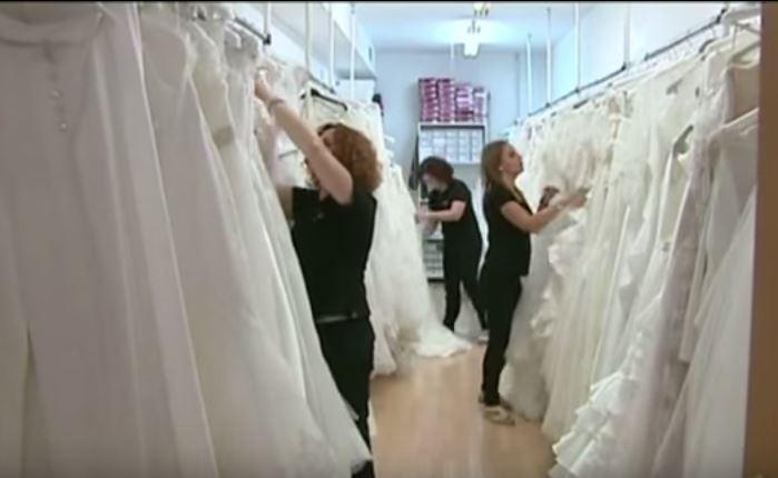 Pueblo de vestidos de novia en cordoba