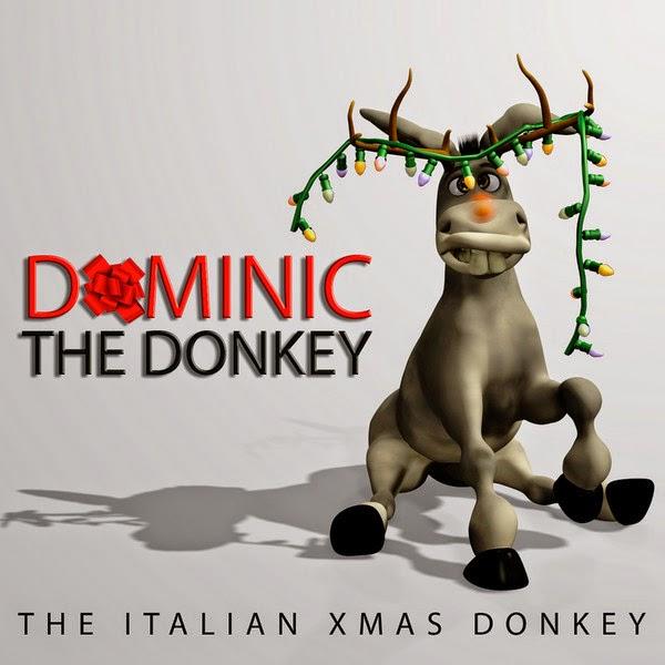 Lou Monte - Dominick the Italian Christmas Donkey - Single