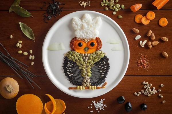 Belas ilustrações com alimentos feita por Anna Keville Joyce