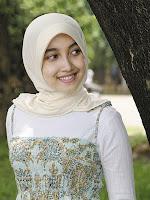 jilbab sesuai bentuk wajah