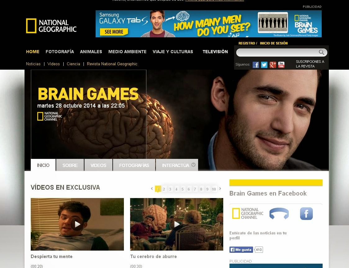 http://natgeotv.nationalgeographic.es/es/brain-games