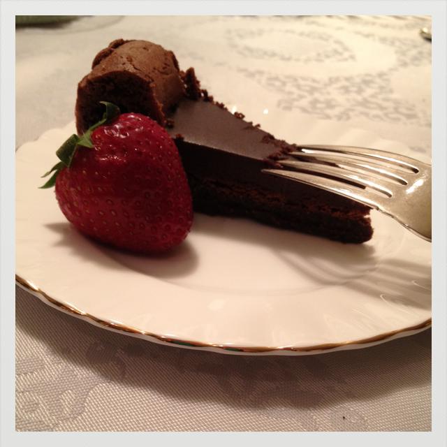 Flourless Chocolate Cake with Chocolate Glaze | Flickr - Photo Sharing ...