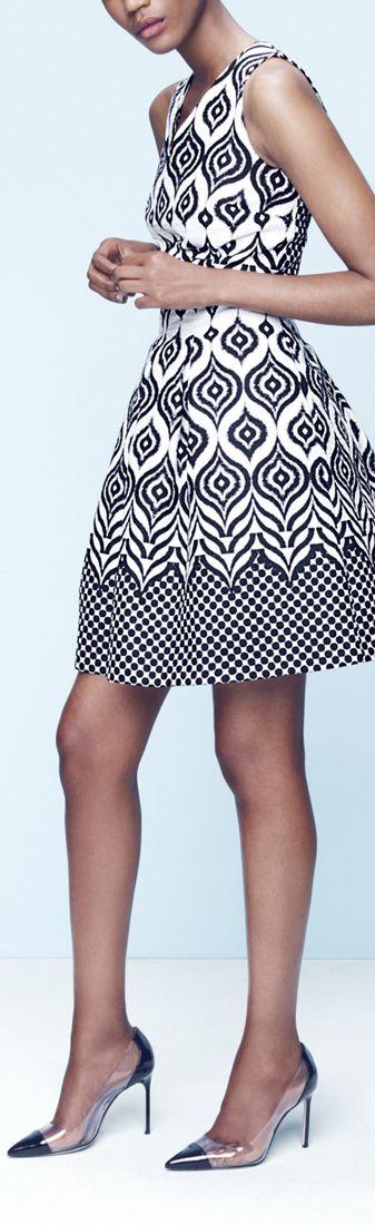 Women 39 S Fashion Patterned Dress