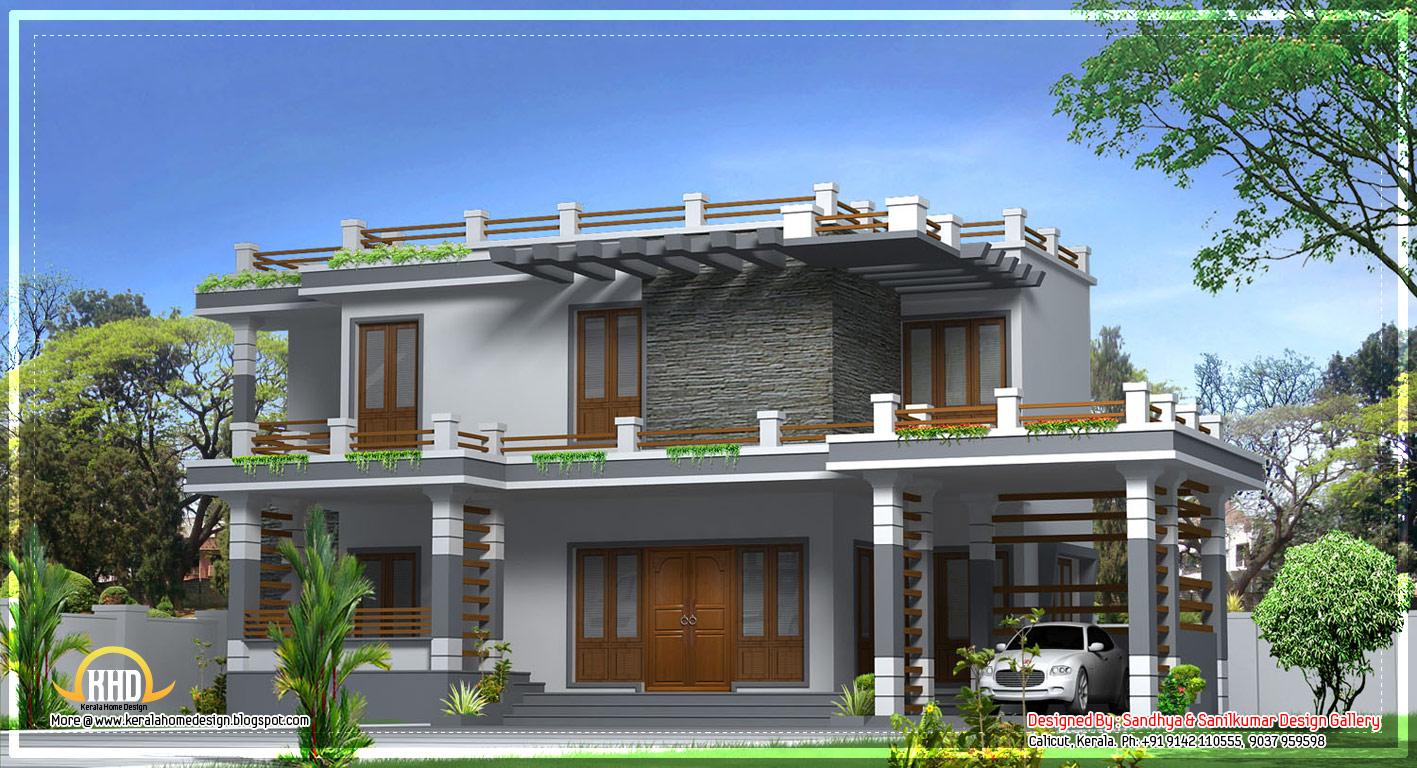Indian normal house design modern home design in kerala