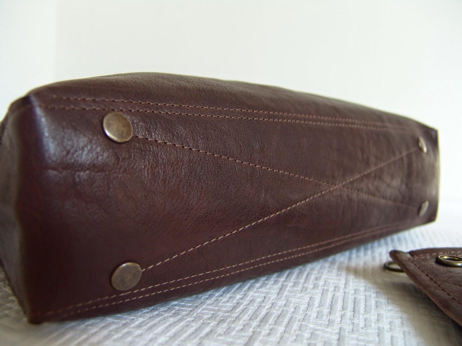 буйволиная кожа, кожаная сумка ручной работы, Таня Феткулова