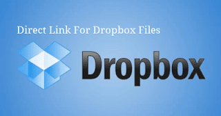 How to Make Direct Link of Dropbox Files