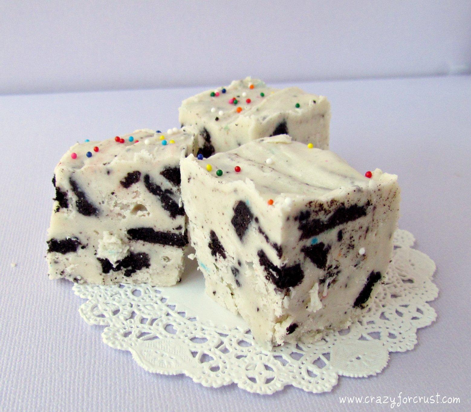 Cookies 'n Birthday Cake Fudge