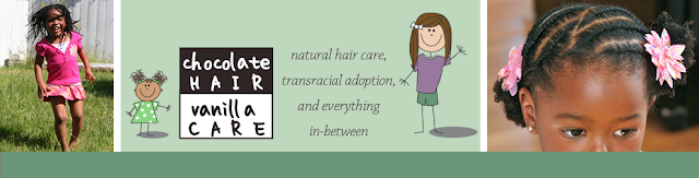 Chocolate Hair / Vanilla Care