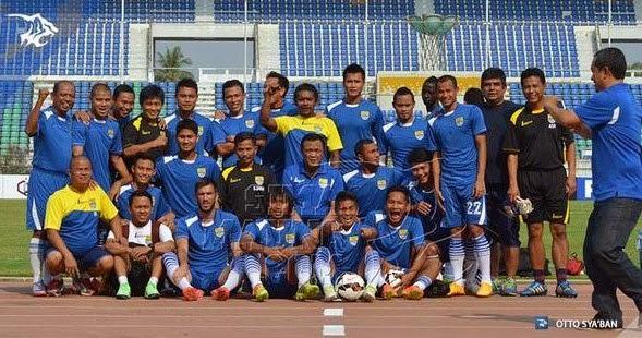 Persib latihan persiapan melawan Ayeyawady United di Myanmar
