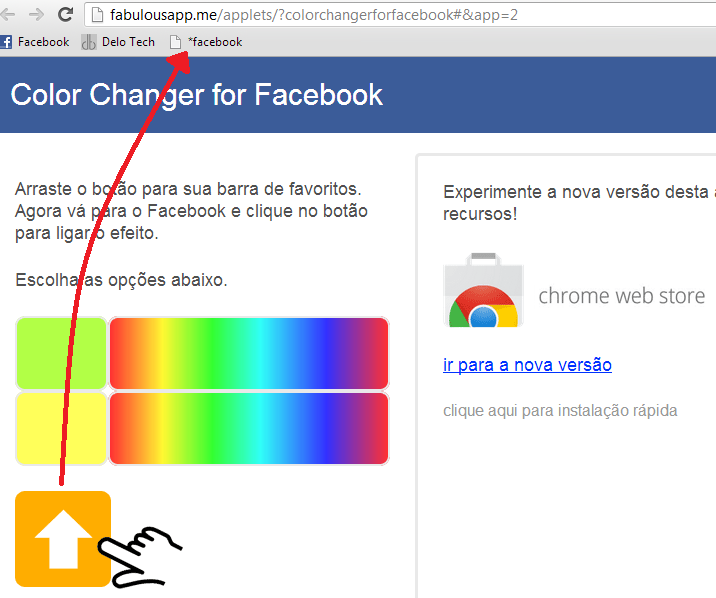 how do i change the background color on google chrome