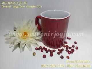 Souvenir Mug Sablon Nescafe