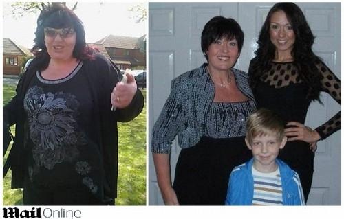 Para o filho não sofrer bullying, mulher emagrece 76 quilos em 9 meses