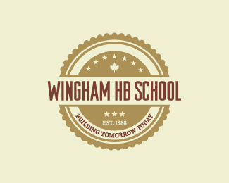 Wingham HB School Logo