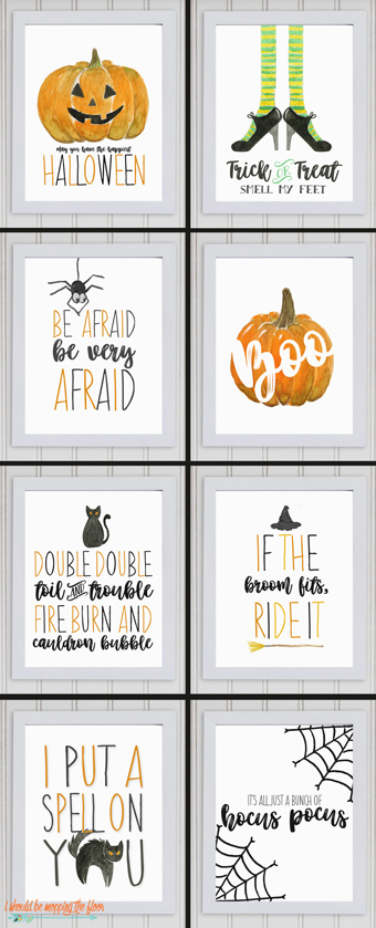 My latest Halloween bundle is the CUTEST in the shop: