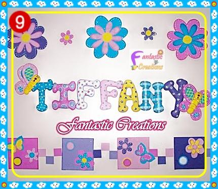 letras decorativas para habitaciones infantiles
