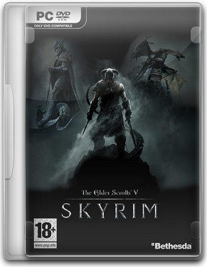Capa The Elder Scrolls V: Skyrim   PC (Completo) + Crack